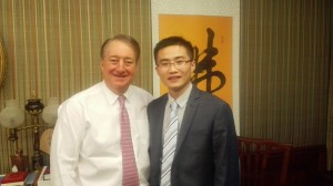 Howard P. Milstein, Chairman, Welcomes Dr. Chuanxu Liu, the MMAAP Foundation Hematology Fellow - Picture